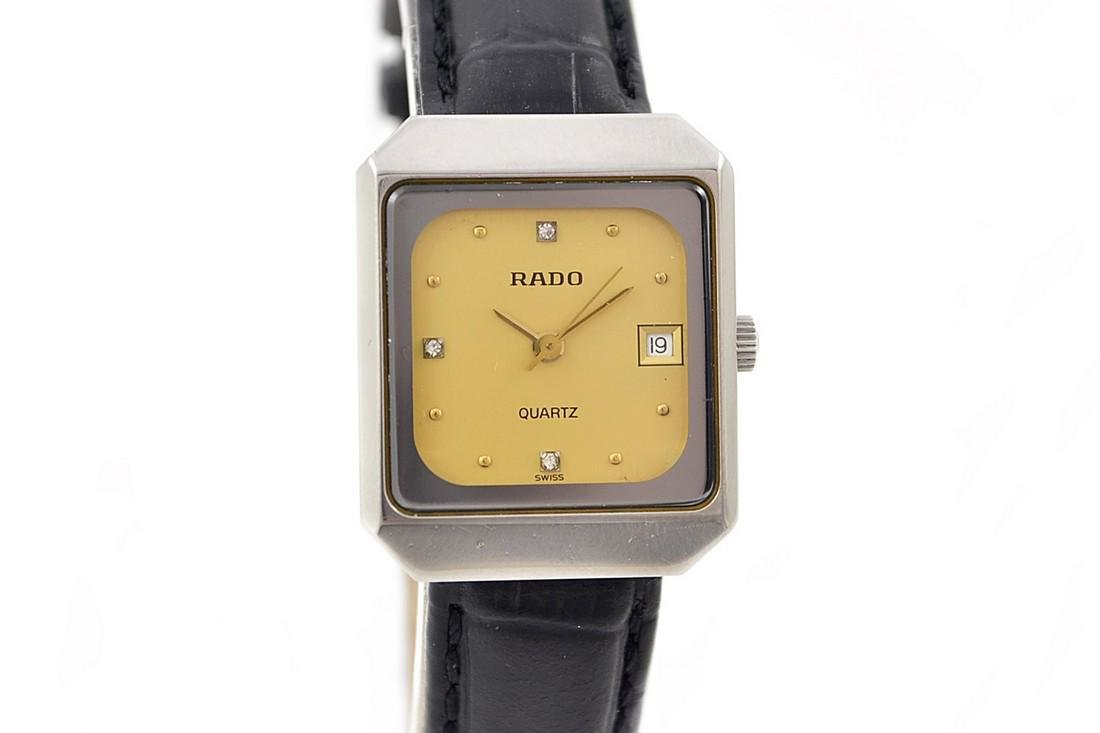 Vintage Rado Diastar Stainless Steel Quartz Ladies