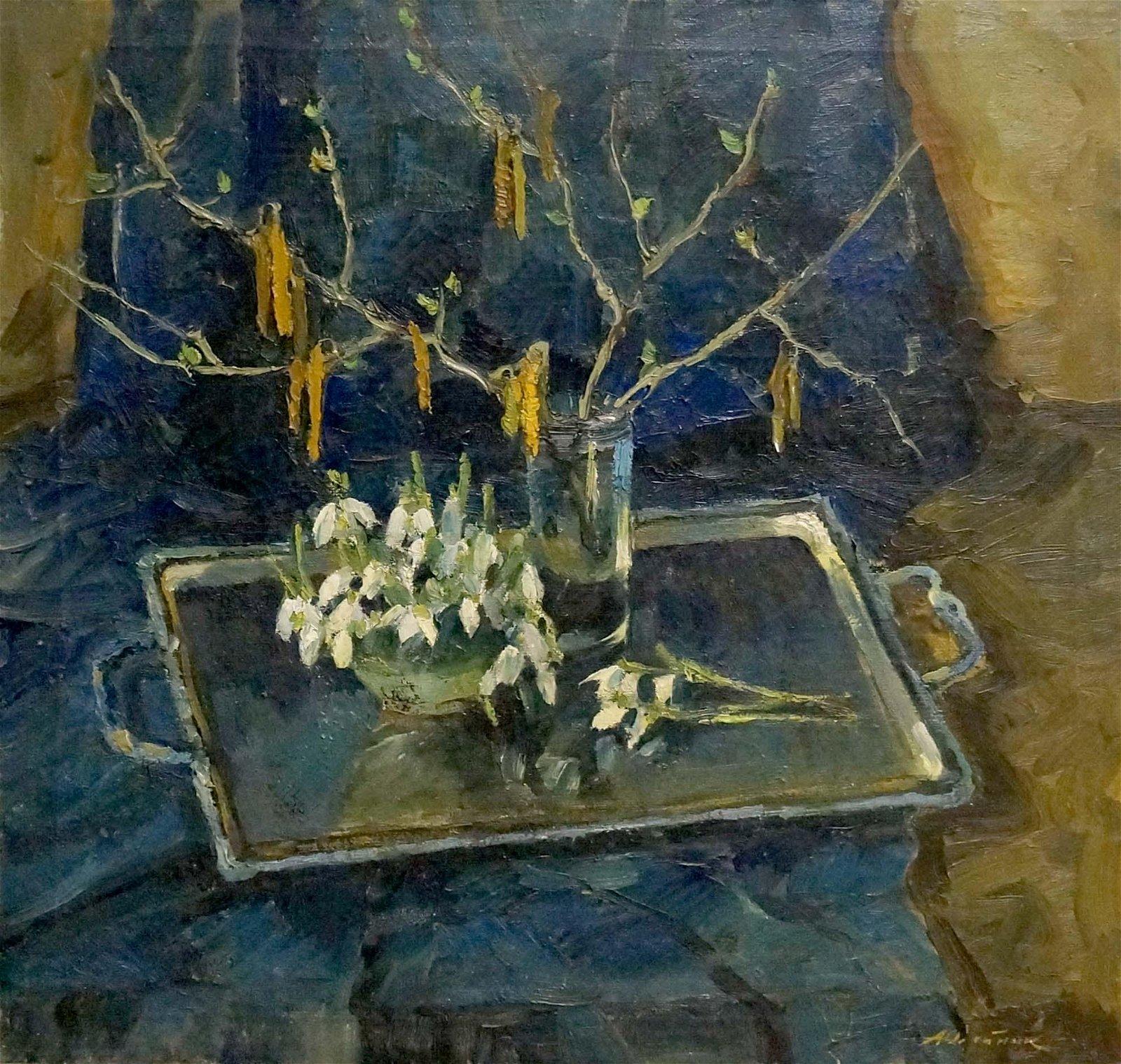 Oil painting Still life Oleinik Alexey Petrovich
