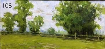 August oil painting Alexander Kryuchkov