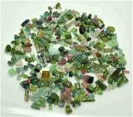 200 Grams Beautiful Tourmaline Rough Crystals Lot