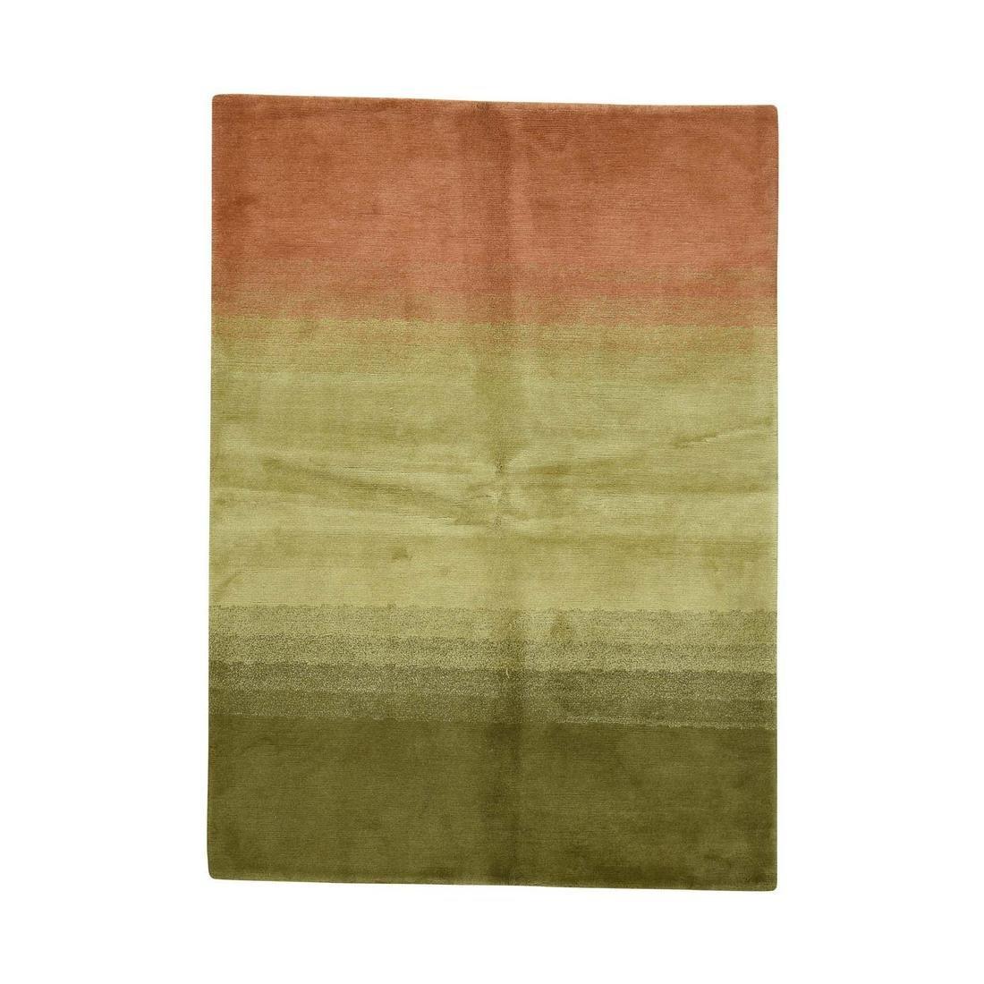 100 Percent Wool Modern Nepali Hand-Knotted Oriental
