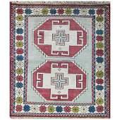 "3'10"" x 4'8"" fabulous Turkish Kazak Rug , #16946"