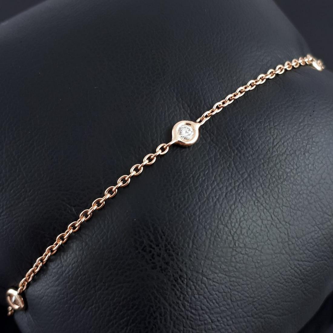 18K Pink Gold - Bracelet