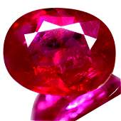 4.44 Cts Certified World Rare Gem Natural Ruby