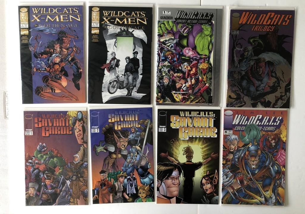 THE WILDC.A.T.S COLLECTION with 1st !!!