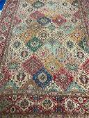 Semi Antique Hand Woven Persian Tabriz 12x8