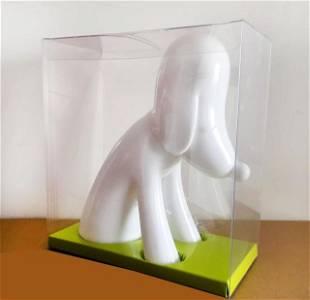 Yoshitomo Nara, 'White Aomori Dog Bank,' 2017