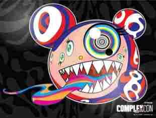 Takashi Murakami, 'Complexcon poster print,' 2016