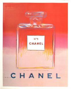 Andy Warhol, 'Chanel No. 5 (Red/Pink),' ca. 1997