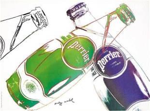 Andy Warhol, 'Perrier,' 1983