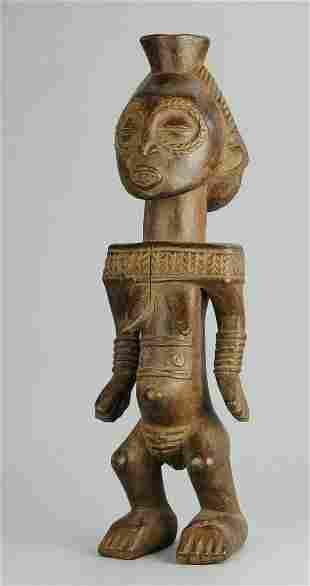 Buyu Boyo Nice Female Ancestor Figure statue Congo