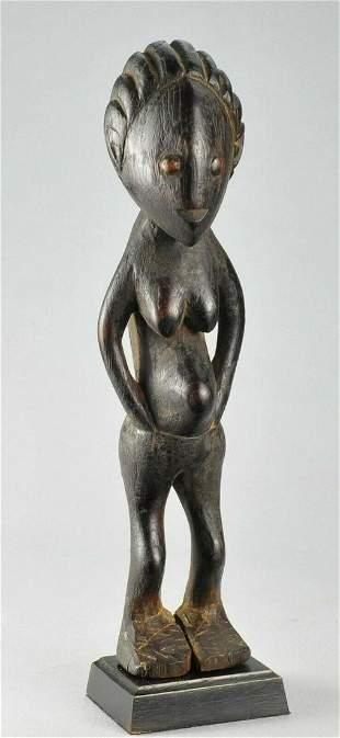 ZANDE AZANDE Rare Ubangi figure statue Congo DRC