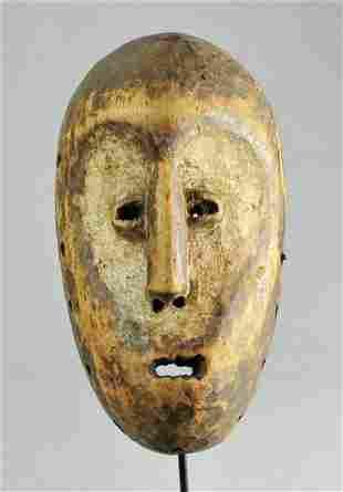 LEGA Idimu Mask cult of the Bwami Congo African Tribal
