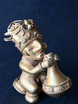 Reproductions of Precolumbian art Figure of man