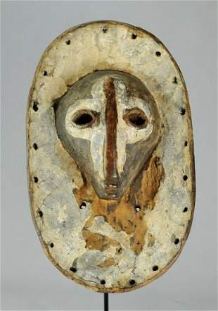 Extremly rare Powerful SHI plank Mask Congo Bashi Lega