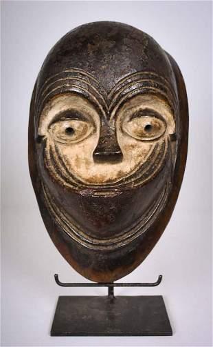 Mask Wood Kwele Gabon