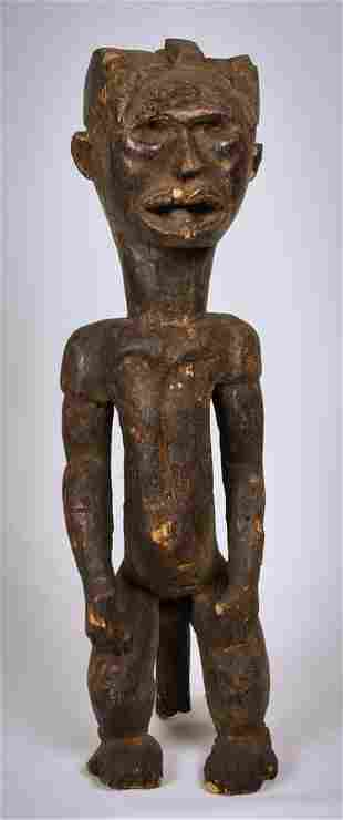 Power Figure Copper Wood Byeri Fang Gabon