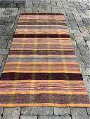 Superb early 20th c Rag Carpet