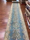 Antique Long Persian Kerman Runner-4698