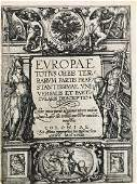 VERY RARE title page of Quads atlas