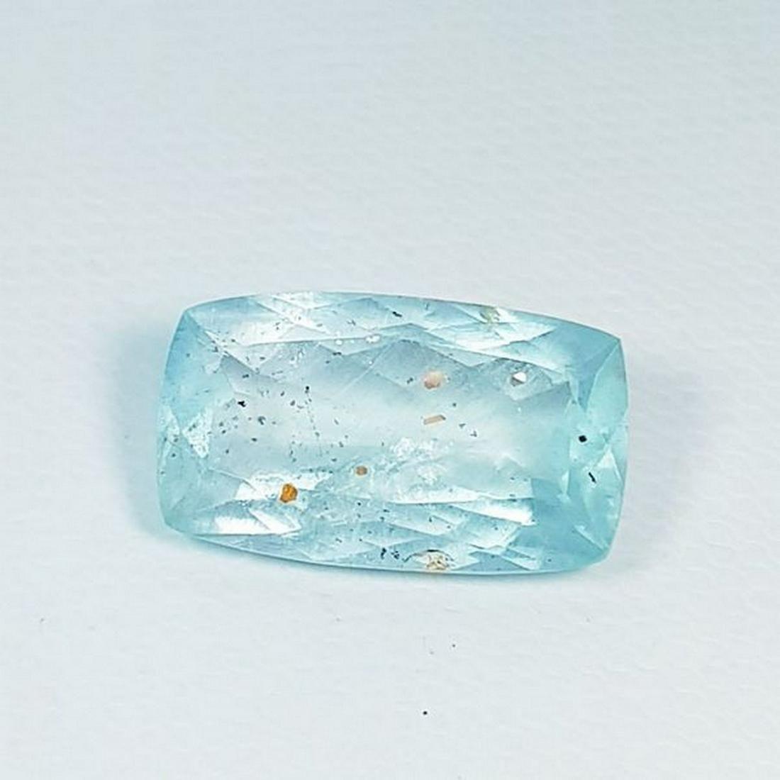 Natural Aquamarine Cushion Cut 6.85 ct