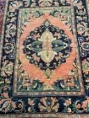 Semi Antique Hand Woven Persian Malayer 6.9x4.9