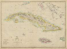 CUBA & JAMAICA. Bahamas, Cayman Islands & Florida Keys.