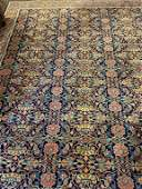 Semi Antique Hand Woven Persian Bijar 8.5x11.5