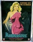 Unnatural Aka Mandragore 56 47x63 LB French Cool Creepy