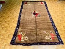 Antique Tirkish Camel hair rug 1121