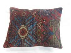 Red Mahal Rug Pillow