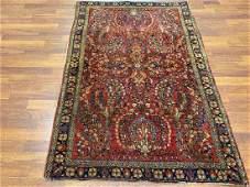 Antique Persian Sarouk rug4697