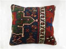 heriz rug pillow