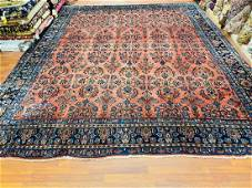 Antique Persian Room size Lilihan Rug-1686