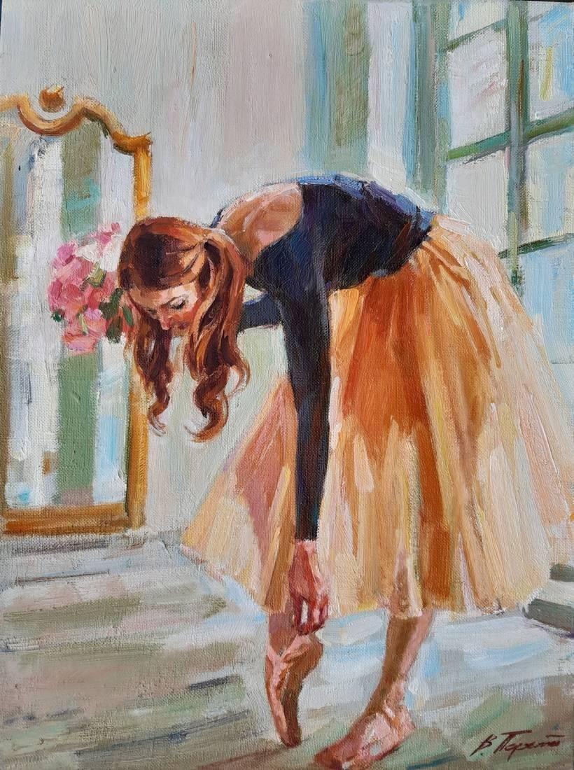Oil painting Ballerina Tepeta Miacheslav
