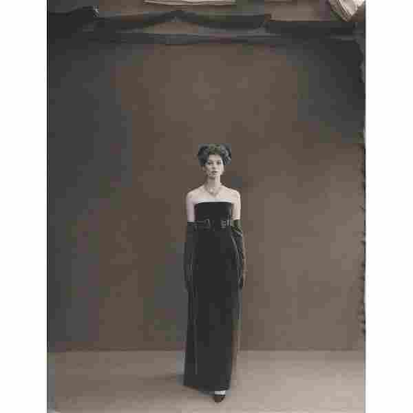 RICHARD AVEDON - Suzy Parker wearing Dior, 1956