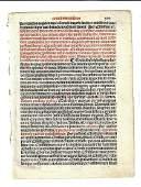 1567 Leaf from Catholic Exorcism Ritual