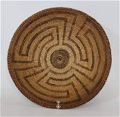 Pima basketry bowl ca 1900-1920