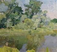 Oil painting Nature Mynka Alexander Fedorovich