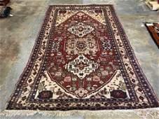 Semi Antique Hand Woven Persian Shiraz 9.3x5.5 ft