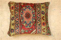 """Antique Hand Made of Caucasian Pillow Cushion Rug 1'2"""""""