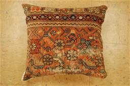 Antique Hand Made of ANTIQUE RUG Pillow Cushion Rug