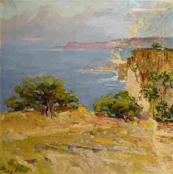 Oil painting Landscapes Zaretsky Victor Ivanovich