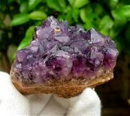 Natural Amethyst Healing Crystals Cluster Specimen