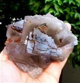 Transparent Fluorite Collectable specimen Mineral 800