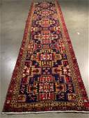AUTHENTIC VINTAGE PERSIAN RUNNER 2.8x9.8
