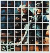 DAVID HOCKNEY - Noya & Bill Brandt with self-portrait,