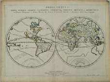 1657 Sanson World Map with California as an Island --