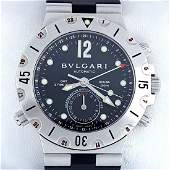 Bulgari - Diagono Scuba GMT - SD38S GMT - Men -