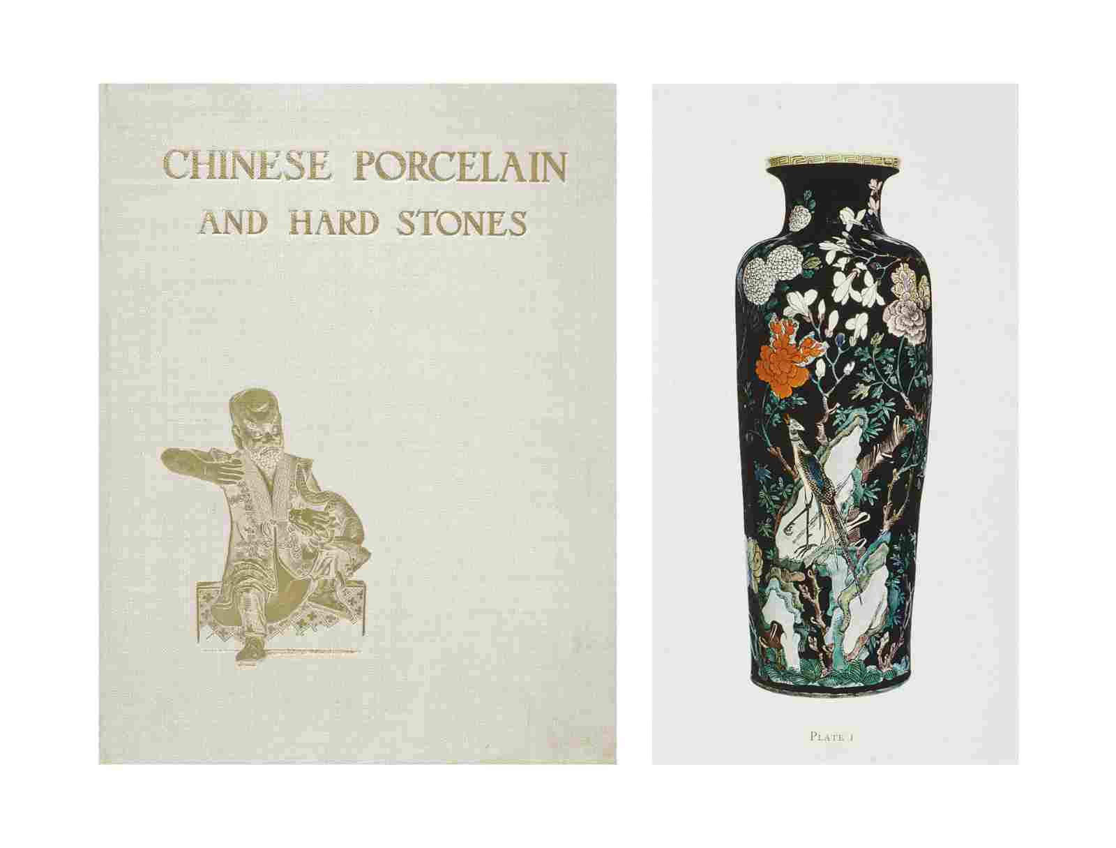 CHINESE PORCELAIN AND HARD STONES
